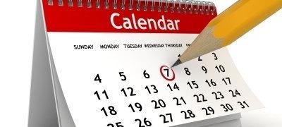 Nuovo calendario Settembre Novembre 2021